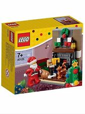 NEW LEGO 40125 SANTA'S VISIT CHRISTMAS BUILDING SET WITH MINIFIGURE RARE SET.