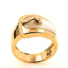 Bague nacre or jaune 18K. 11,53 g