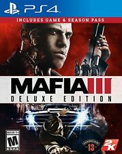 NEW Mafia III 3: Deluxe Edition (Sony PlayStation 4, 2016)