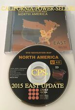 2006 2007 2008 Toyota Prius Navigation DVD EAST Map U40 (2015)