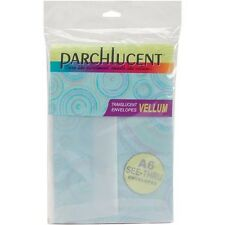 "Leader Paper Products Parchlucent Vellum Envelopes A6 (4.75"" x 6.5"") - 355191"