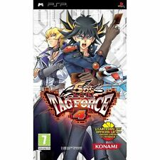 YU-GI-OH! 5DS Tag Force 4 PSP GIOCO NUOVO PAL UK + CARDS