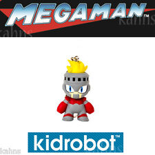 "Kidrobot Mega Man Keychain Series  - FIRE MAN - 1.5"" Figures - New - Megaman"