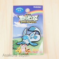 Pokemon Best Wishes crocs charms Glaceon Rubber pin From Japan