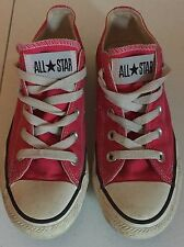 Converse All Star Sneakers Womens Size 6 Pink Athletic Fashion GUC