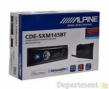 MOBILE MEDIA SOLUTIONS ALPINE ( CDE-SXM145BT ) CD/USB ADVANCED BLUETOOTH RECEIVE