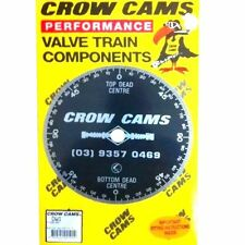 "CROW CAMS CAMSHAFT DEGREE WHEEL 8""/20cm DIAMETER FOR DIALLING IN CAM"