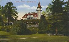 Lauban in Schlesien, Steinberghaus, alte Ansichtskarte von 1917