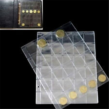 Classic Coin Holder Sheet for Storage Collection Album 1 Page 30 Pocket