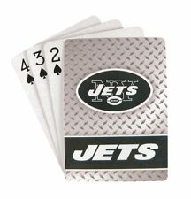 NEW YORK JETS 52 PLAYING CARDS DECK DIAMOND PLATE POKER  NFL FOOTBALL