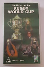 The History of the Rugby World Cup-CLASSIC RARE VHS PAL  'AS NEW'