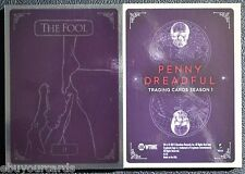 Penny Dreadful Complete Tarot Foil Set 0 - VII Insert Chase Trading Cards