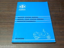 MANUEL REVUE TECHNIQUE D ATELIER PIAGGIO HEXAGON 125 150 1994 -  SERVICE MANUAL