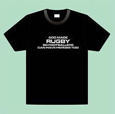 RUGBY funny rugby union rugby league T Shirt all sizes and colours UK FREEPOST