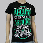 CAPTURE THE CROWN - What Comes Around T-shirt - NEW - SMALL ONLY