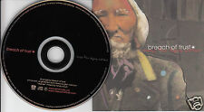 BREACH OF TRUST Songs For Dying Nations (CD 2001) Rock Album 10 Songs Canada