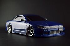 USED TAMIYA 1/10 RC TA03-R SPECIAL 2WD DRIFT CHASSIS NISSAN SILVIA S13 NAVYBLUE