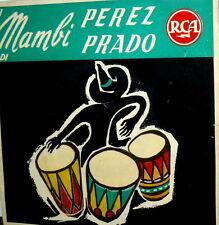 """I MAMBI DI PEREZ PRADO EP 7""""  RCA A72V 0010 MARILYN MONROE MAMBO + 3 ITALY 19576"""