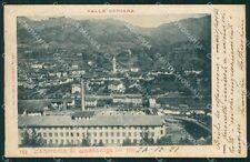 Bergamo Cazzaniga Valle Seriana PIEGA ANGOLINO SCOLLATO cartolina QT0796