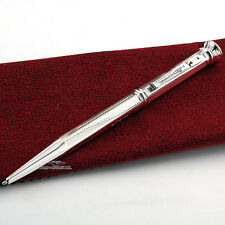 Yard-O-Led Regent Hexagonal Barley Sterling Silver Ballpoint Pen
