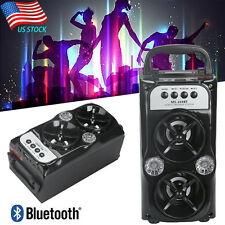 Outdoor Bluetooth Wireless Portable Speaker Super Bass with USB/TF/AUX/FM Radio