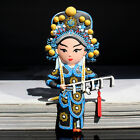 TOURIST SOUVENIR Chinese Peking opera Rubber FRIDGE MAGNET -- Mulan 花木兰