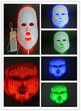Photon LED Light Therapy Facial Mask- Red,Blue,Green Rejuvenate Skin-USA Seller