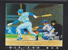 "YOUNTand MOLITOR ""Hit n Run""  lithograph Limited Numbered 643 of 5,000"