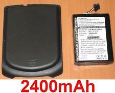 Coque + Batterie 2400mAh type G025A-Ab G025M-AB BP-LP1230 Pour Mitac Mio P350