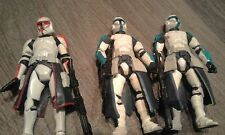 Star Wars Clone Wars Lot Hunt For General Grievous Clone Troopers X3