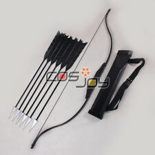 "51"" The Hunger Games Katniss Everdeen Bow Arrows and Arrow Holder Cosplay Props"