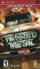 Twisted Metal: Head-On (Sony PSP, 2005) Game with Manual