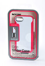 Incase Grip Slider Hard Shell Case Cover for iPhone Se 5s 5 White & Magenta NEW