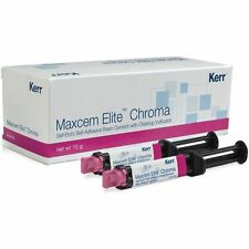 Kerr Maxcem Elite Chroma Self-Etch, Self-Adhesive Resin Cement Clear