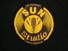 The Legendary Sun Studio Memphis Tennessee Elvis Presley Music Black T Shirt S