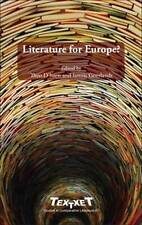Literature for Europe? (Textxet: Studies in Comparative Literature)-ExLibrary