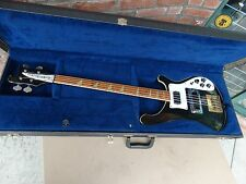 1979 Vintage Rickenbacker Model 4001 (SF-3026) Electric Bass Guitar with Case