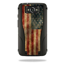 Skin Decal Wrap for Otterbox Defender Droid Turbo Case Vintage Flag