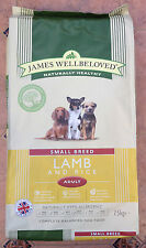 James Wellbeloved Lamb Adult Small Breed Complete Dry Dog Food 7.5kg