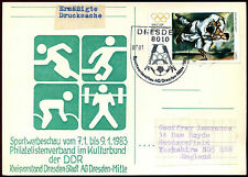 Germania EST 1983 Sports Illustrated H/S CARTOLERIA POSTALE CARD #c36074