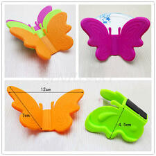 2Pcs Adorable Butterfly Shaped Silicone Anti-scald Devices Kitchen Tool Gadget