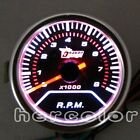 "NEW 2"" 52mm TINT LENS POINTER TACHOMETER TACHO LED GAUGE METER CAR TRUCK 8000RPM"