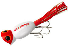 Arbogast Hula Popper 3/8 White/Red G760-01