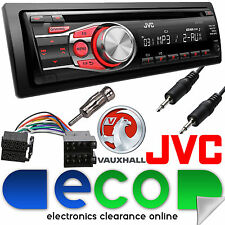 Vauxhall Astra F MK3 1991-1998 JVC Car Stereo Radio CD MP3 AUX In Upgrade Kit