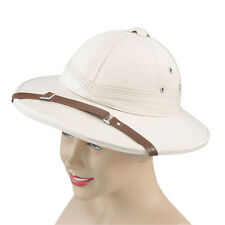 GOOD QUALITY #SAFARI HELMET BEIGE HAT FANCY DRESS ACCESSORY ADULT