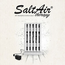 SaltAir salt therapy & air purifier device for respiratory problems with inhaler