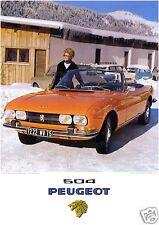 Peugeot 504 Cabrio - Poster Plakat Affiche A1 (Repro)