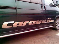 VW T4 T5 CARAVELLE decals. DUB / Caravelle side decals