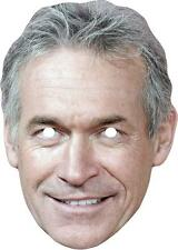 Dr Hilary Jones Celebrity Card Mask - All Our Masks Are Pre-Cut!