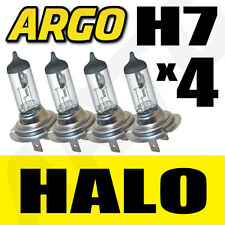 H7 HALOGEN 55W BULBS 12V DIPPED BEAM HEADLIGHT HEADLAMP CLEAR LIGHT LAMP 499 X 4